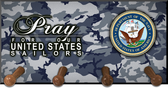 Pray for Our Navy Keychain Holder