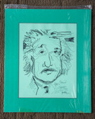 Matted Albert Einstein Sketch by Joseph Matose