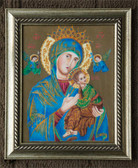 Mary and Infant Jesus Icon Painting