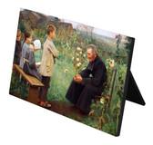 Catechism Lesson Horizontal Desk Plaque