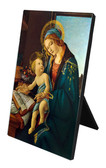 Madonna and Child Vertical Desk Plaque