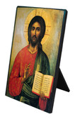 Icon of Christ Vertical Desk Plaque