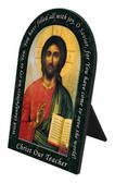Christ the Teacher Prayer Arched Desk Plaque