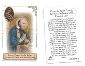 Prayer to Saint Francis de Sales For Those With Hearing Loss