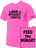 Love Without Limits Neon Pink T-Shirt