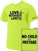 Love Without Limits Neon Yellow T-Shirt