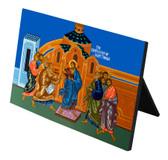 Confession of St. Thomas Horizontal Desk Plaque