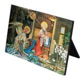 Annunciation of St. Gabriel Horizontal Desk Plaque