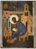 Mark the Evangelist Rustic Wood Icon Plaque