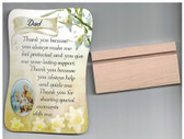 Dad Stand Up Easel Plaque