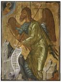 John the Baptist Rustic Wood Icon Plaque