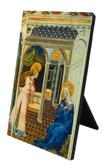 Annunciation by Giovanni di Paolo Vertical Desk Plaque