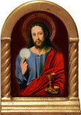 Christ with Eucharist Desk Shrine