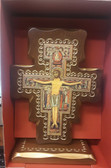 San Damiano Standing Crucifix Tilted Head