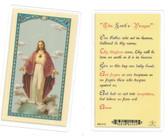 The Lord's Prayer Laminated Prayer Card