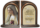 Our Lady of Fatima Bookends