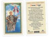 St. Louis de Montfort Laminated Prayer Card
