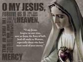 Fatima Decade Prayer Poster