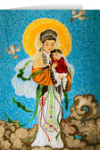 Our Lady of China Greeting Card