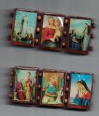 Wooden Large Virgin Mary Bracelet