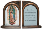 Our Lady of Guadalupe Bookends
