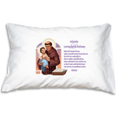 Saint Anthony Prayer Pillowcase