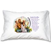 St. Cecilia Prayer Pillowcase