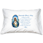 Immaculate Heart of Mary Prayer Pillowcase