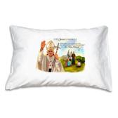 Pope Saint John Paul II - Vignette Prayer Pillowcase