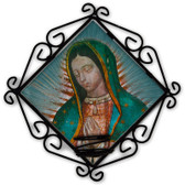 Our Lady of Guadalupe Detail Votive Candle Holder