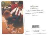The Servant Prayer Card