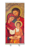 Holy Family Icon Banner Stand