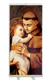 St. Anthony with Jesus Banner Stand