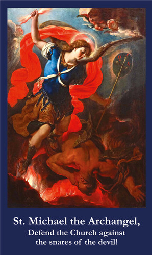Saint Michael the Archangel prayer for priests