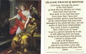 Healing Prayer At Bedtime Prayer Card