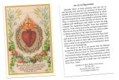 An Act Of Reparation Prayer Card