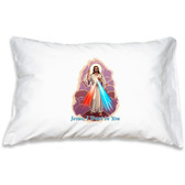 Prayer Pillow Case Divine Mercy