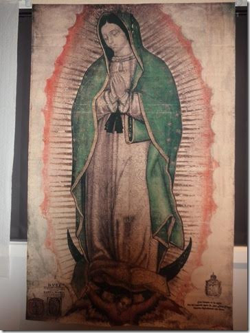 Our Lady Of Guadalupe Tilma Of Juan Diego Authentic Exact Size