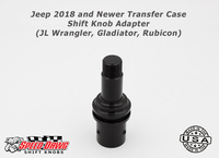 Jeep 2018 & Newer Transfer Case Shift Knob Adapter JL Wrangler Gladiator Rubicon
