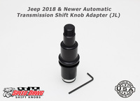 Jeep 2018 & Newer Automatic Transmission Shift Knob Adapter JL