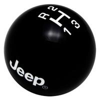 Black knob with White graphics