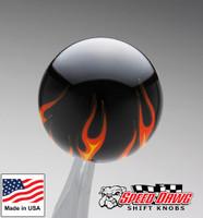 Black Flame Shift Knob