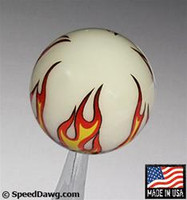 Ivory Flame Shift Knob