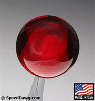 Transparent Red Shift Knob