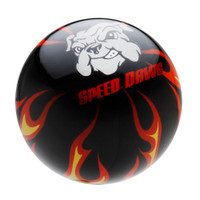 Black Flame Shift Knob with Speed Dawg Logo