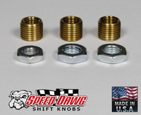 Metric Thread Shift Knob Adapter Kit - 3 Sizes