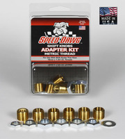 Metric Thread Shift Knob Adapter Kit - 6 Sizes
