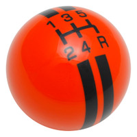 Orange / Black Rally Stripe Shift Knob
