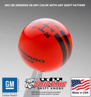 Camaro SS Rally Stripe Shift Knob 5th 6th Gen