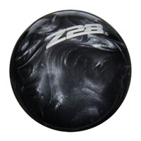 Black Pearl knob with Gray graphics
